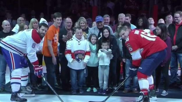 MSD Victims Remembered at Florida Panthers Game