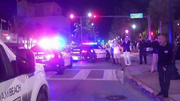 Miami Beach Police Return From Helping Michael Victims