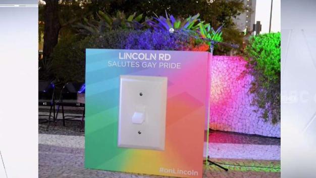 Miami Beach Pride's Annual 'Flip The Switch' Kickoff Event