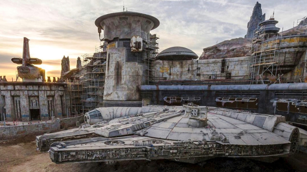 'Star Wars' Land: Disney Shares First Look at Millennium Falcon Attraction