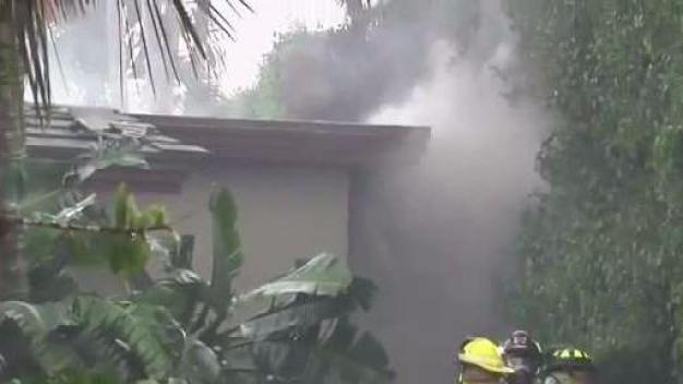 Multi-Million Dollar Mansion Catches Fire