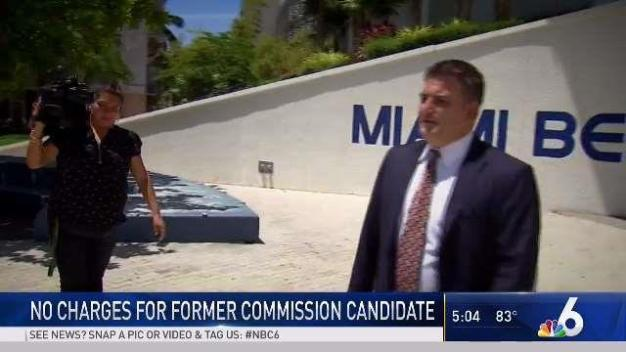 No Charges for Former Miami Beach Commission Candidate