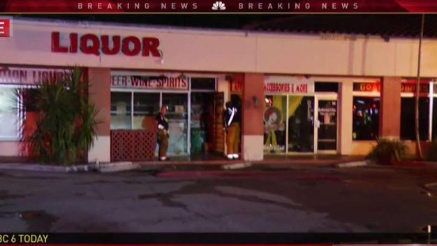 Overnight Fire Breaks Out at Plantation Strip Mall