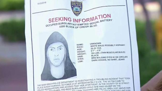 Search for Sex Assault Suspect in Miami Beach