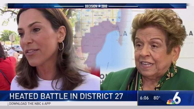 Shalala, Salazar in Heated Battle for District 27