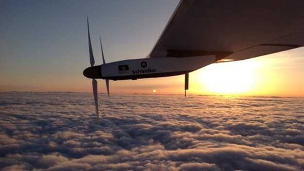 Solar-Powered Plane Lands in Pa. After 17-Hour Flight