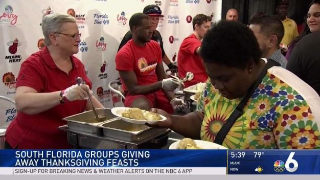 South Florida Groups Give Thanksgiving Feasts