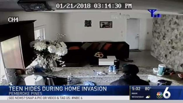 Teen Hides During Pembroke Pines Home Invasion