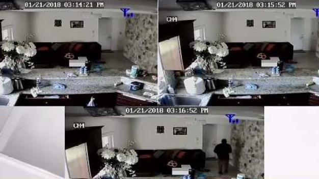Teen Home Alone as Burglars Break In
