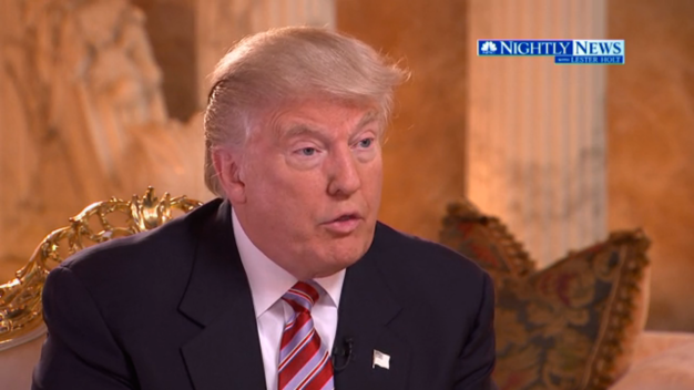 Trump Says He 'Heard' Clinton's Email Server Was Hacked