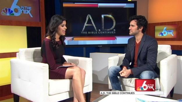 "Juan Pablo Di Pace Talks ""A.D. The Bible Continues"""