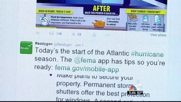 Hurricane Preparedness: Social Media