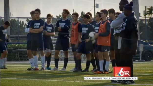 Local Students Tackle Concussion