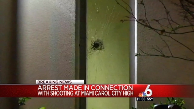 Arrest Made in Shooting Outside Miami Carol City High School