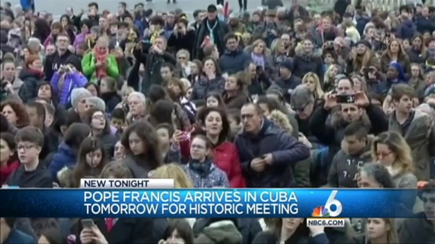 Pope Francis to Arrive in Cuba Friday for Historic Meeting