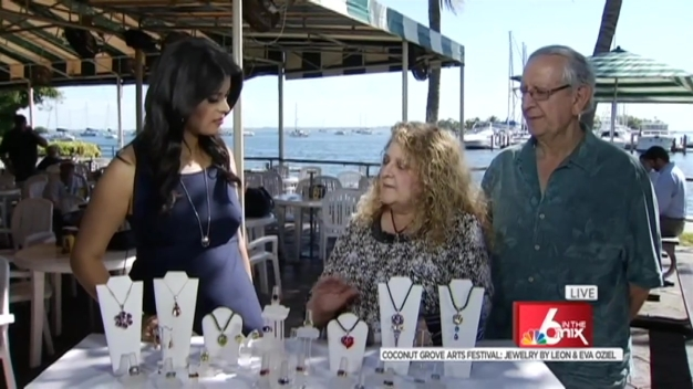 Coconut Grove Arts Festival: Jewelry Artists Leon & Eva Oziel