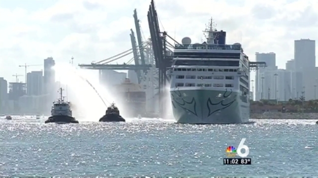 1st US Ship Arrives in Cuba
