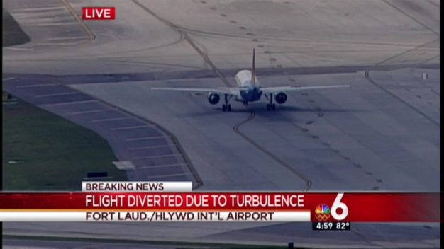 Allegiant Flight Diverted to Fort Lauderdale for Turbulence