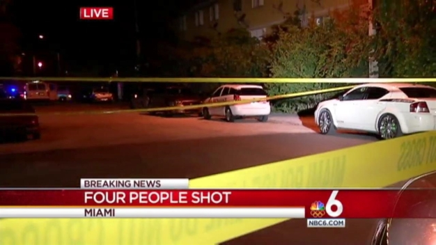 4 Injured in Miami Shooting: Police