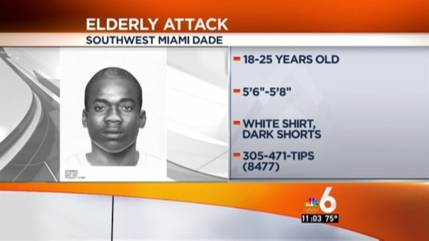 Man Wanted for Sexually Assaulting Elderly Woman: MDPD