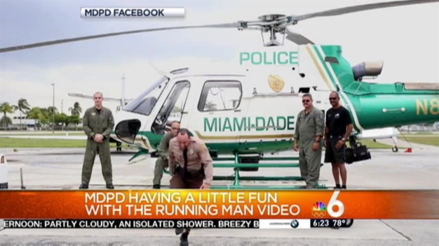 MDPD Accepts Running Man Challenge