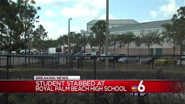 Student Stabbed at High School in Palm Beach County