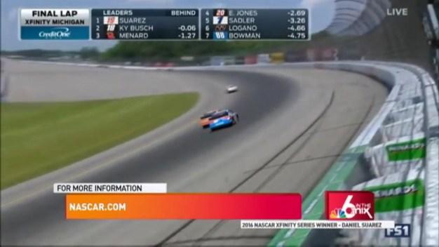 Daniel Suarez: NASCAR XFINITY Series