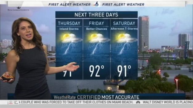 First Alert Weather 6 AM