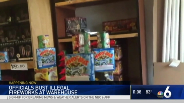 Police make massive bust of illegal fireworks in Lauderhill