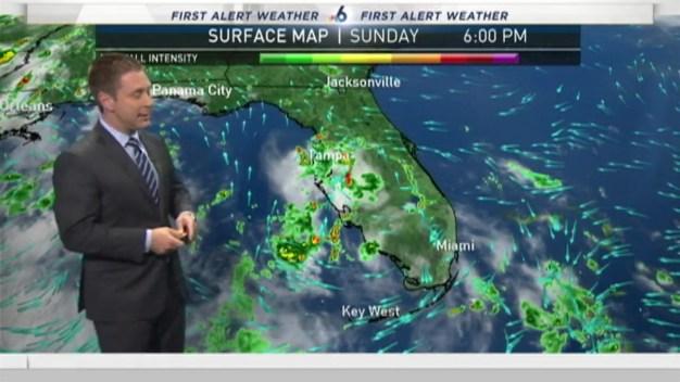 First Alert Forecast- Sunday 6pm