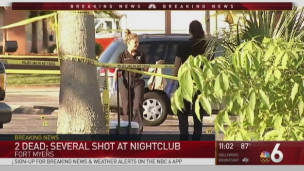 2 Killed In Shooting Outside Fort Myers Club Overnight