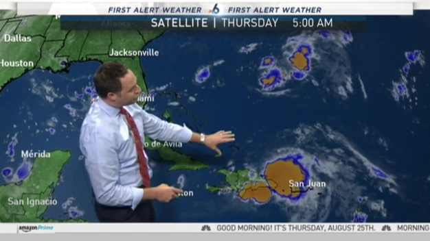 Tracking the Tropics - 5 AM Thursday August 25