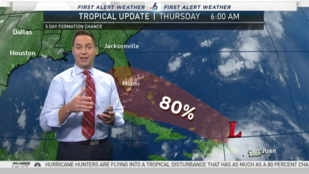 Tracking the Tropics - 6 AM Thursday August 25