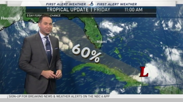 Tracking the Tropics - 11 AM  Friday August 26