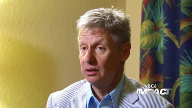 NBC 6 Impact  August 28, 2016 - Gary Johnson