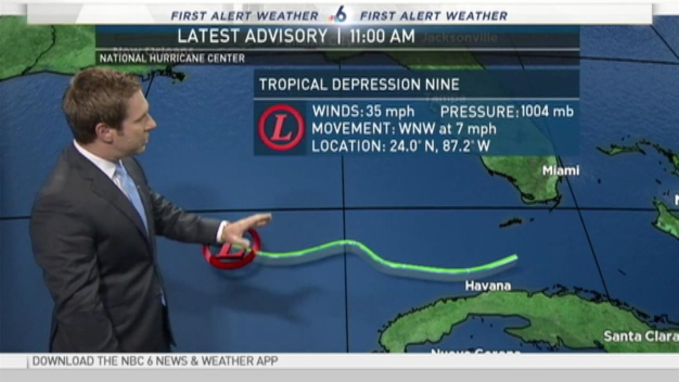 Tracking the Tropics - 11 AM August 30