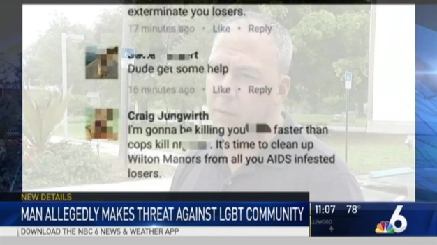 Wilton Manors Police Have Made Contact With a Man Accused of Making Anti-Gay Threats
