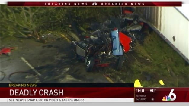 NBC 6 Team Coverage of Deadly Miramar Tractor Crash