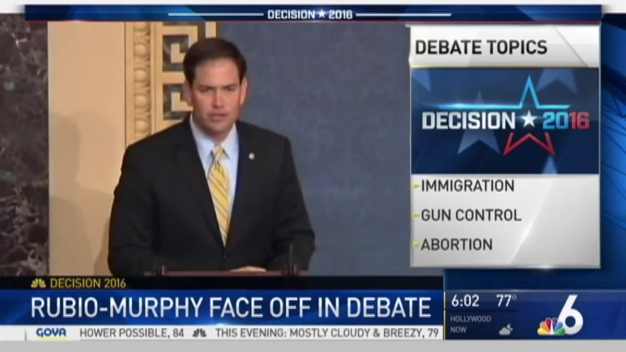 Rubio, Murphy Prepare for Second Senate Debate