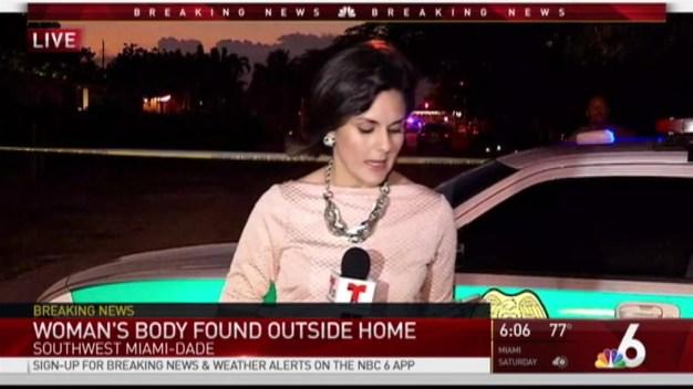 Woman's Body Found Outside Southwest Miami-Dade