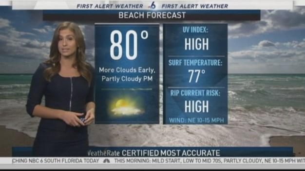 First Alert Forecast- Saturday 9am