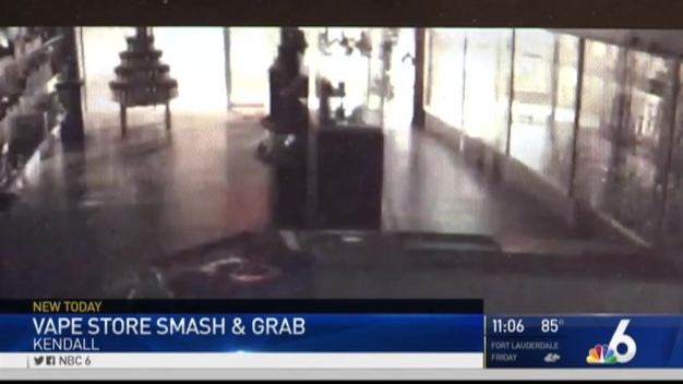 Early Morning Break-In Damages SW Miami-Dade Smoke Shop