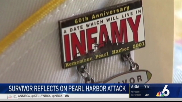 Pearl Harbor Survivor Remembers Fateful Day 75 Years Ago