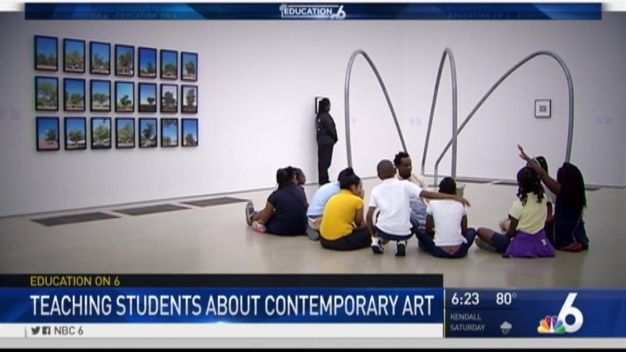 PAMM Offer Program to South Florida Students