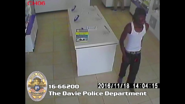 Davie Police Searching For Men In Pricey Cell Phone Robbery
