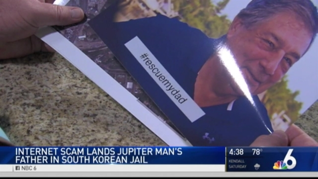 Scam Lands South Florida Man's Father in South Korea Jail