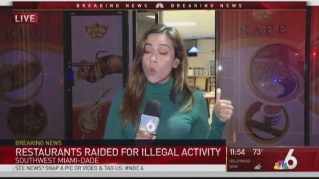 Miami-Dade Restaurants Raided for Illegal Activity