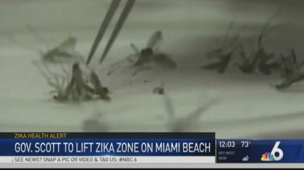 Gov. Scott to Announce Miami Beach Zika Zone Lifting