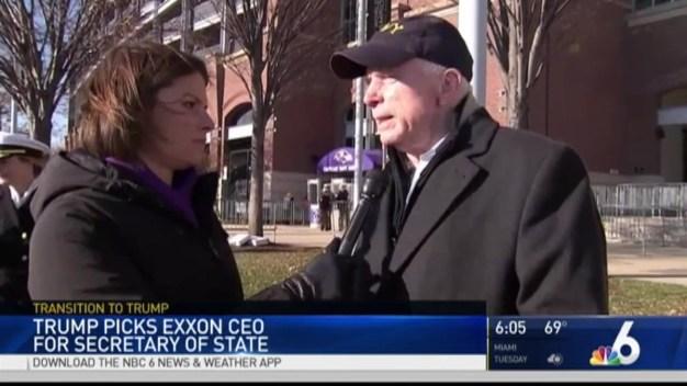 Trump Picks Exxon CEO for Secretary of State