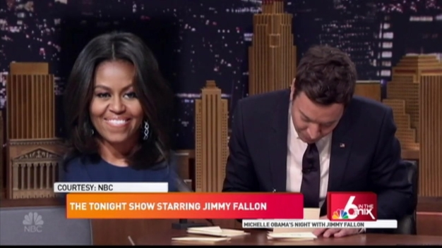 Michelle Obama's Night with Jimmy Fallon
